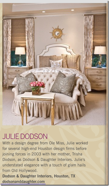 The Traditional Home Story On Julie Dodson Young Houston Designer