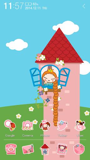 玩個人化App|プッカ プリンセス アトム テーマ免費|APP試玩