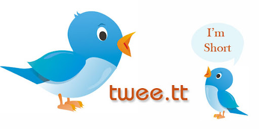 Twitter's URL Shortner Twee.tt Launched | Twitter Bird & Illustration by Shekhar