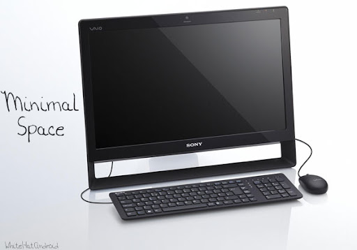 Sony VAIO J series released Desktop PC, takes minimal space