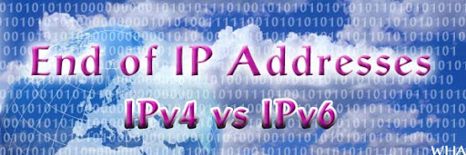 IPv4 Exhausts IPv6 comes to Rescue The Internet, Existing IP Addresses Going to End This Year image 128bit IP address is only way