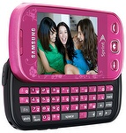 boost mobile launches Samsung Seek it's first touch screen phone with landscape slideout qwerty keypad and GPS
