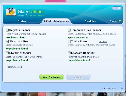 Glary Utilities pro - Ultimate System Maintenance & Security Solution- registry cleaner