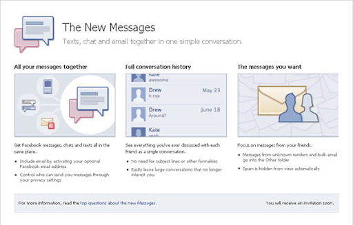 top free invites giveaway image Facebook Lahuches New Messaging with Facebook Email, Get Invites Now