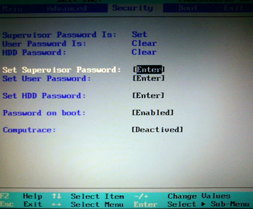 BIOS Password Security For Laptop & Desktop Computers, Provide Another Layer of Security