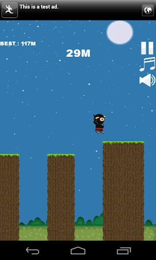 Cliff Ninja Jump