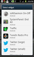 Screenshot of Rooted SSH/SFTP Daemon