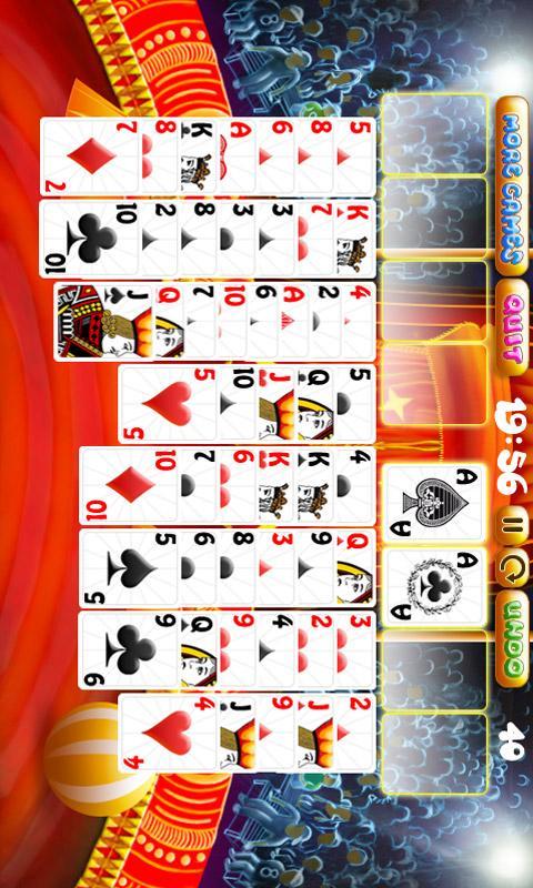 Arena Solitaire Free - screenshot
