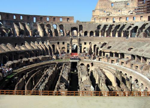Mọi con đường đều dẫn tới thành Rome - All roads lead to Rome