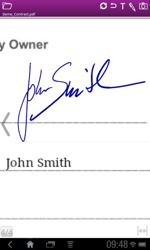 SIGNificant Signature Capture - screenshot