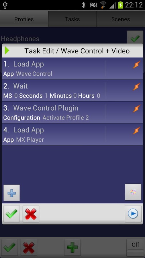 Wave Control- screenshot