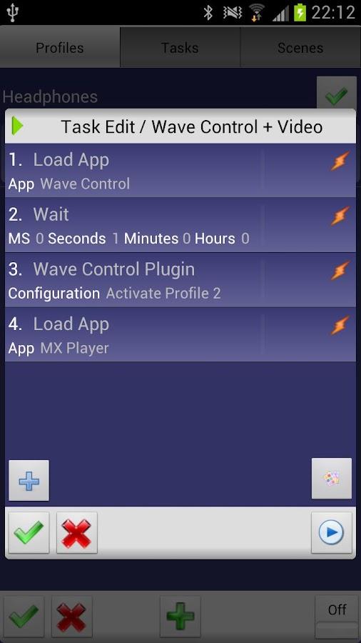 Wave Control - screenshot