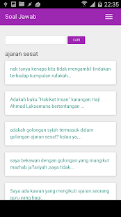 Soal Jawab: Kemusykilan Agama - screenshot thumbnail