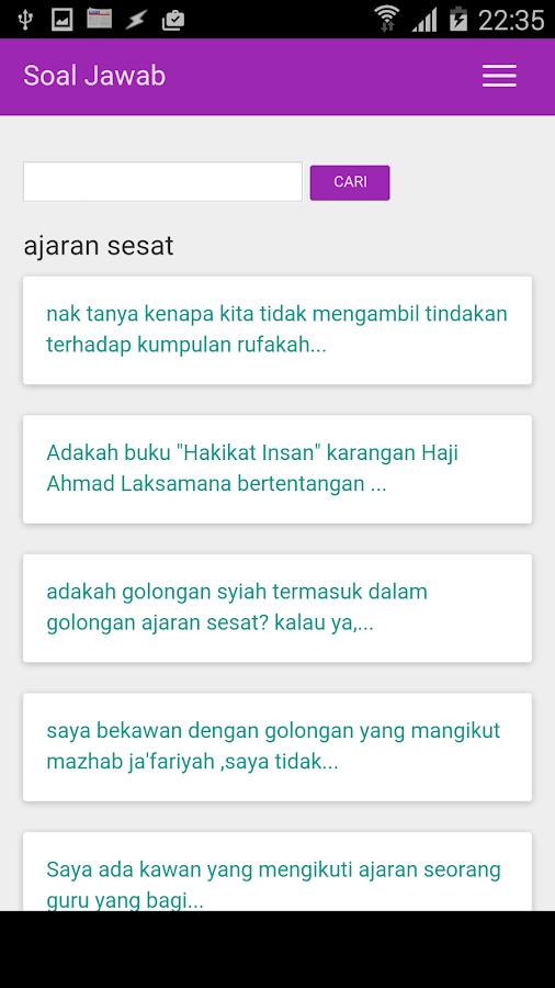 Soal Jawab: Kemusykilan Agama - screenshot