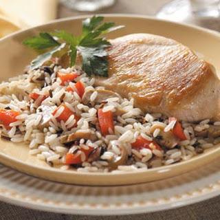 Wild Rice Mushroom Chicken