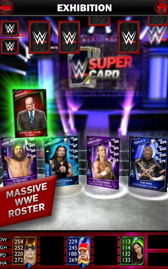WWE SuperCard - screenshot