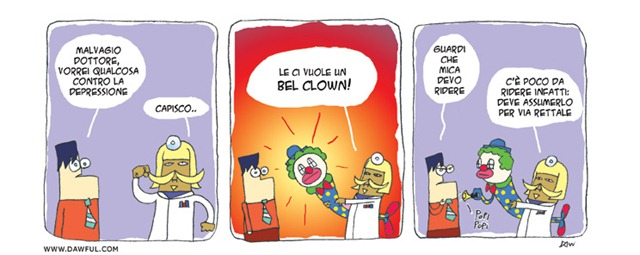 Un bel clown!
