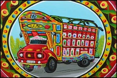 Pakistani Painted Truck 00