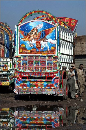 Pakistani Painted Truck 07