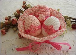 Crocheted Eggs 02