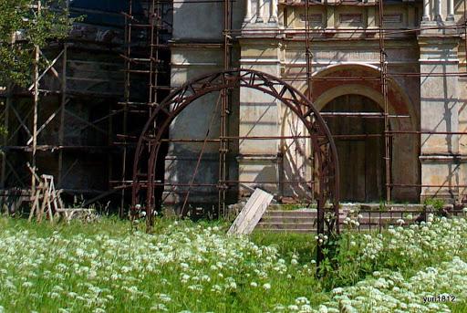 Храм Рождества Пресвятой Богородицы в селе Пенино Church of the Nativity of the Blessed Virgin in the village Penino photo yuri1812