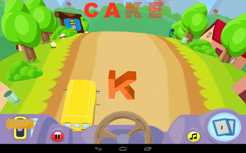 Alphabet Car Screenshot 8