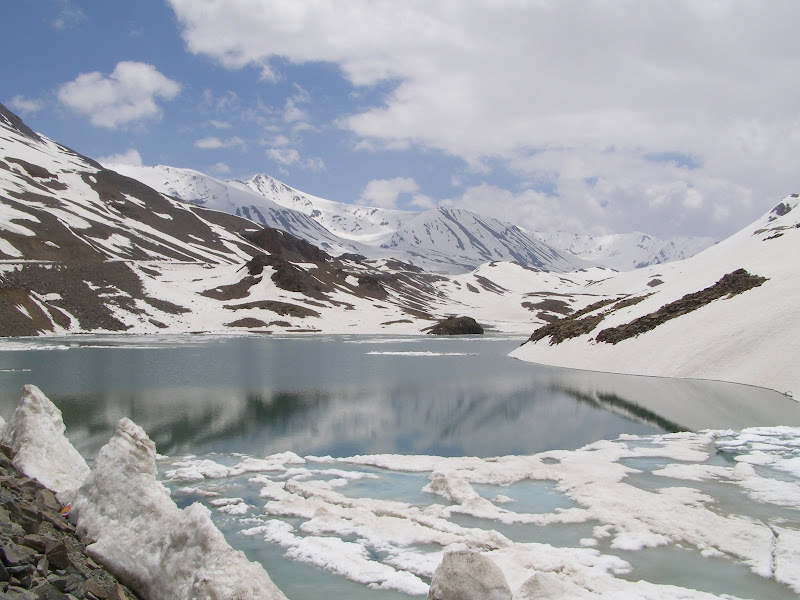 Suraj Tal - The most beautiful lake I ever lay my eyes on