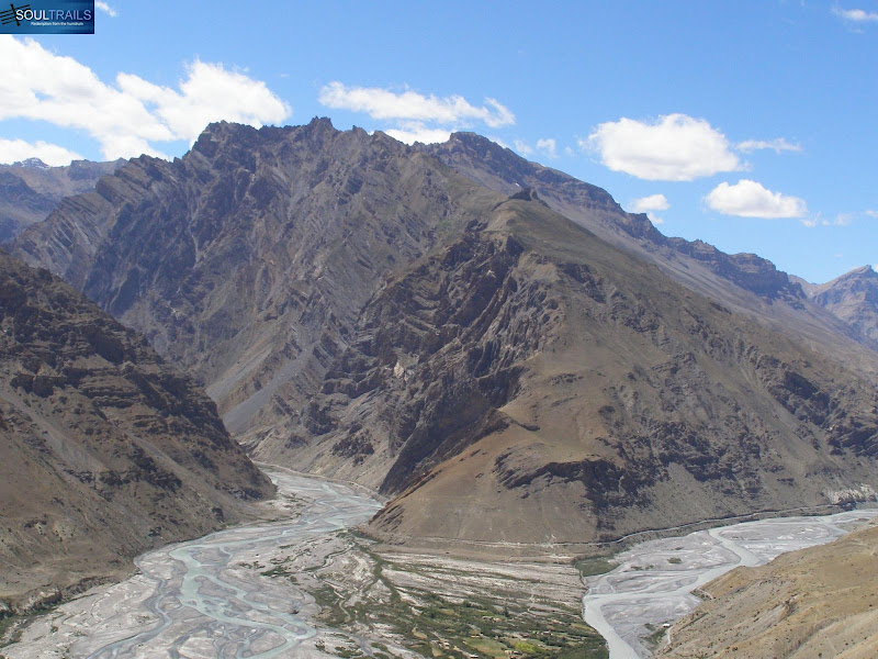 Sight to behold (clicked from on top of the Dhankar Monastery)