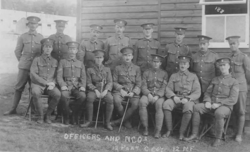 Northumberland Fusiliers World War One Photos Obituaries