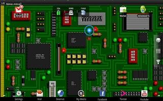Screenshot of Nandroids Live Wallpaper Free