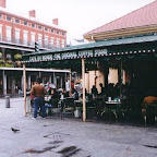 (late) breakfast at Cafe Du Monde