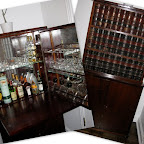Antique Bar from a Furniture Auction