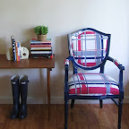 Amanda - Windowpane Chair
