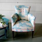 Steph - Antique Water Birds Chair