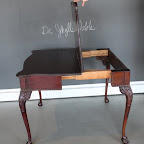 Then, a nifty double-sided desk