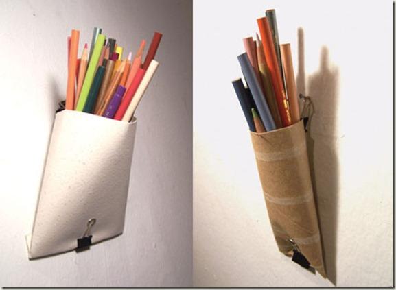 poditans  toilet paper roll   pencil holder