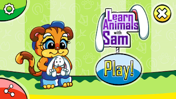 Screenshot of Kids learn animals Funny zoo