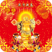 Lucky God Chinese New Year LWP