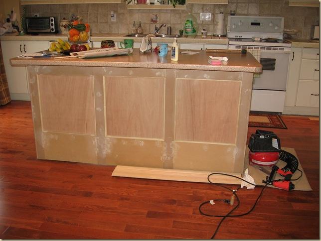 Making Kitchen Island Legs