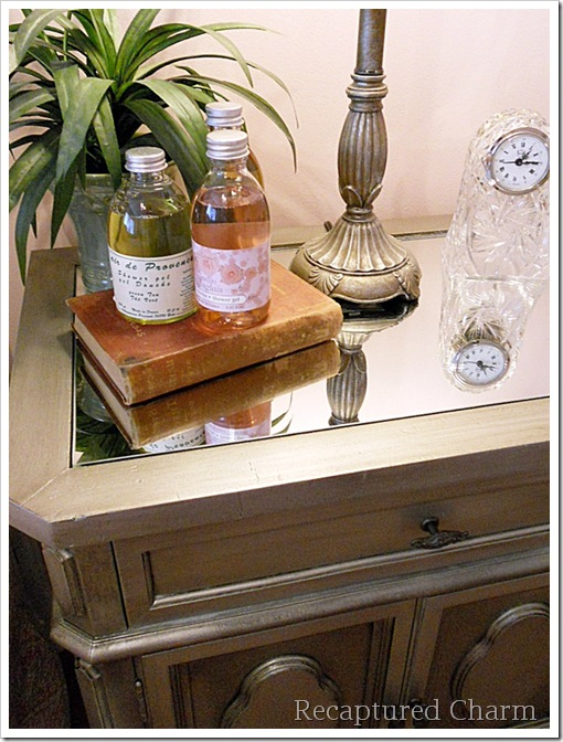 Silver Metallic Night Stands 061a
