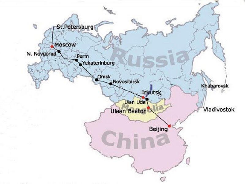 Matkakertomus Siperian Junamatkasta