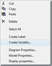 F5 menu Create Variable