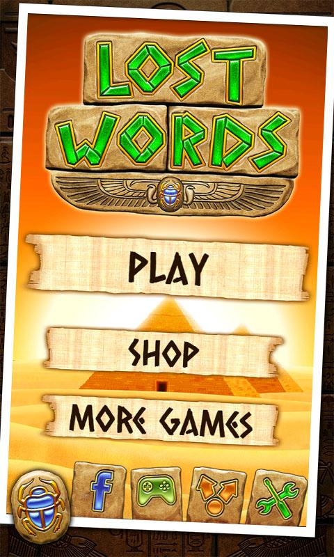 Lost Words - screenshot