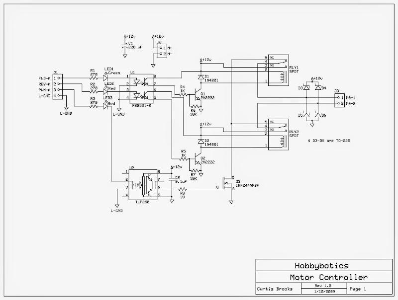 H-bridge circuit? — Parallax Forums on