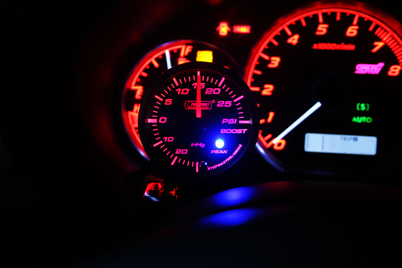 Installed Prosport Boost gauge, how to calibrate? - Subaru