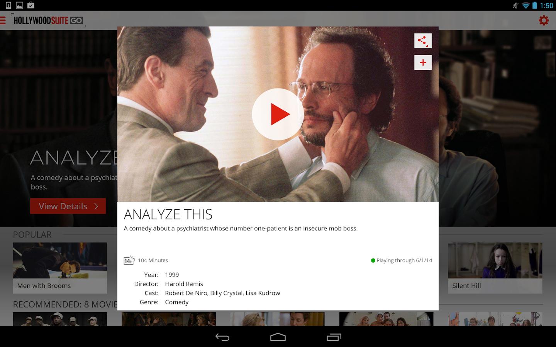 Hollywood Suite GO - screenshot
