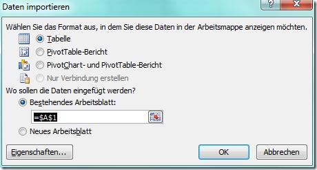 Autodesk Inventor FAQ: PSP Datenbank in Excel einlesen und mittels ...