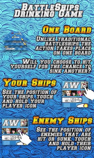 BattleShips Drinking Game Free