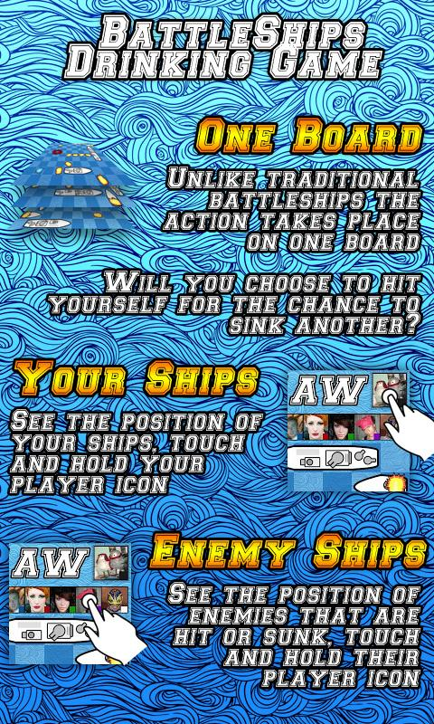 BattleShips Drinking Game Free- screenshot