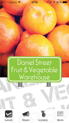 Daniel St Fruit Vegetable